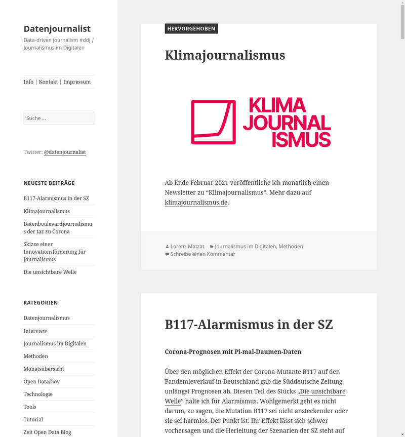 Der Datenournalist.de-Blog
