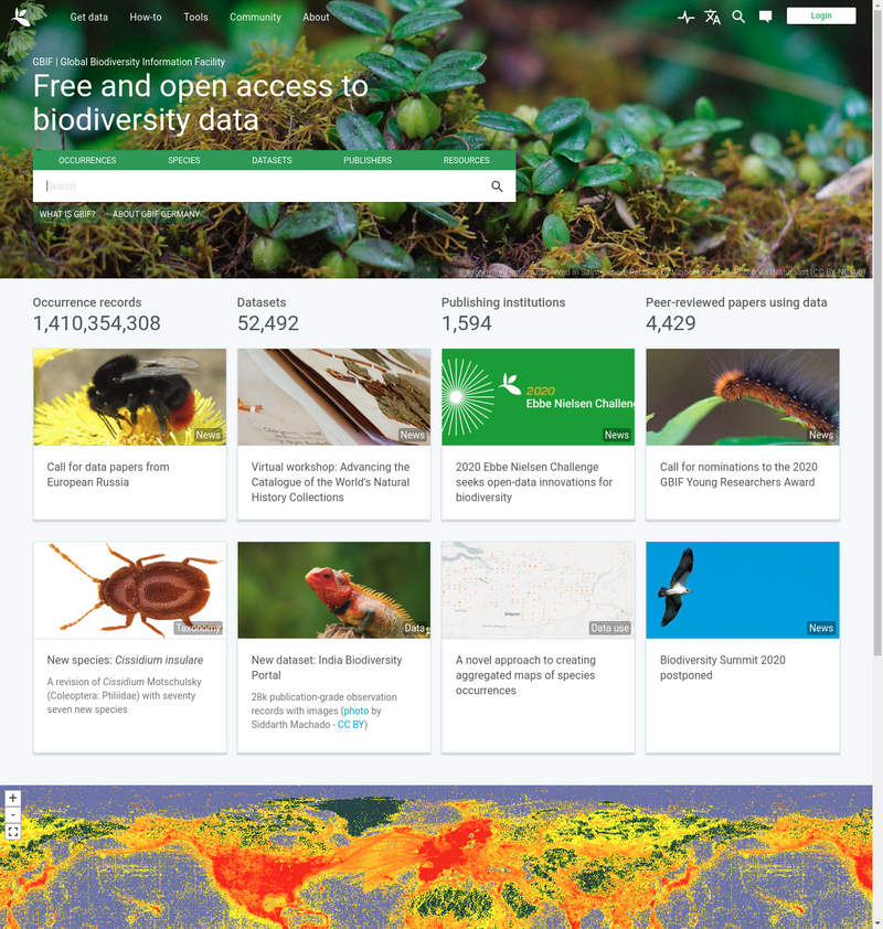 GBIF - the Global Biodiversity Information Facility