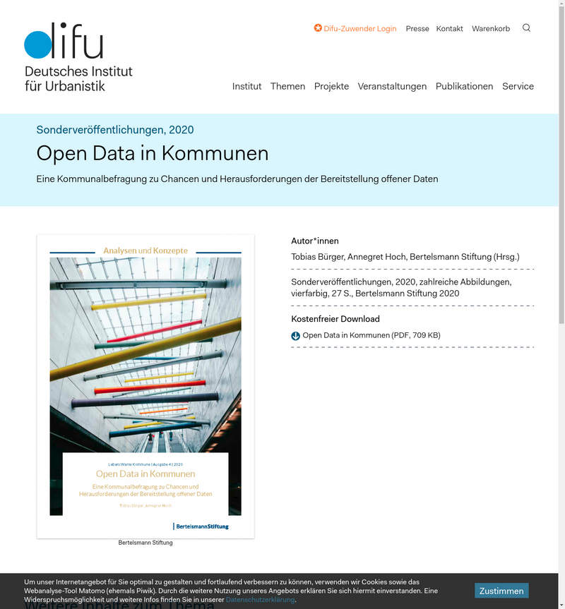 Studie: Open Data in Kommunen